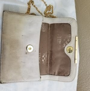 Vicente camuto crossbody bag leather.